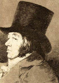 Los caprichos de Francisco de Goya. Proves d'estat