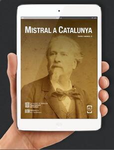 """Presentació del llibre electrònic """"Mistral a Catalunya"""""""